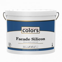 Colors facade Silicon cиліконова фасадна фарба 2,7л