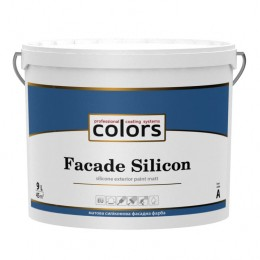 Colors facade Silicon силіконова фасадна фарба9л