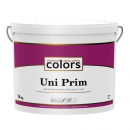 Colors Uni PRIM універсальна штукатурна ґрунтовка з кварцовим піском 14 кг