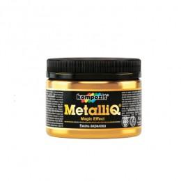 Емаль акрилова METALLIQ Kompozit срібло 0,1 кг
